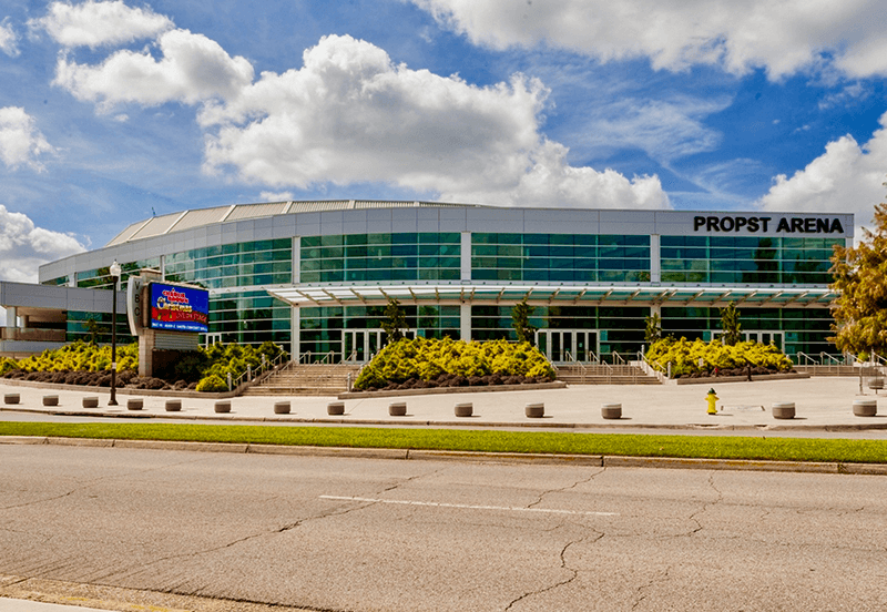 Propst Arena at the Von Braun Center in Downtown Huntsville