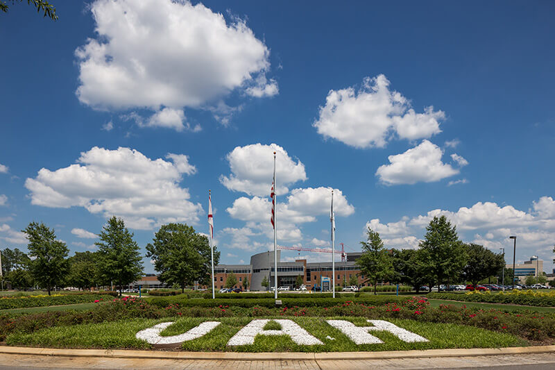 University of Alabama in Huntsville UAH Entrance