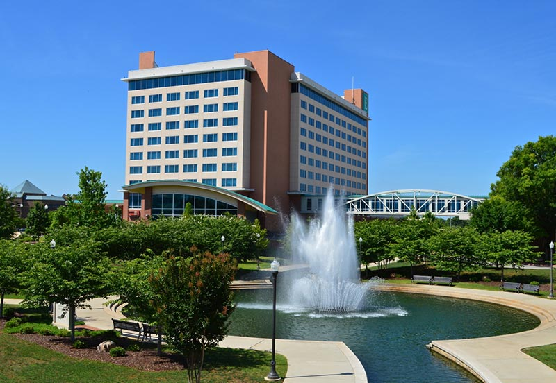 Embassy Suites in Downtown Huntsville