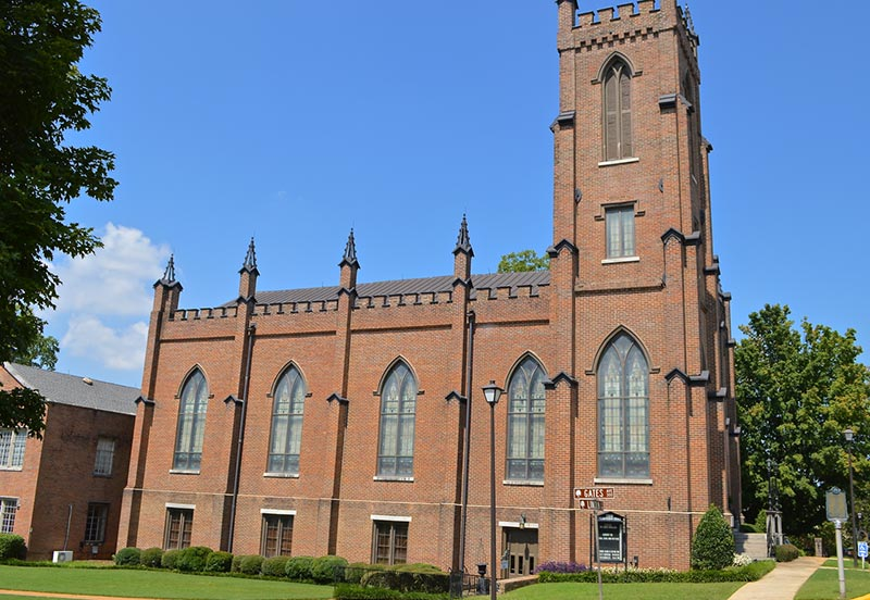 First Presbyterian Church in Downtown Huntsville