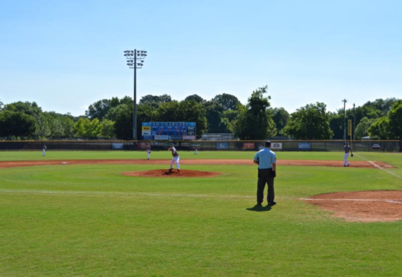 University of Alabama Huntsville Baseball Game